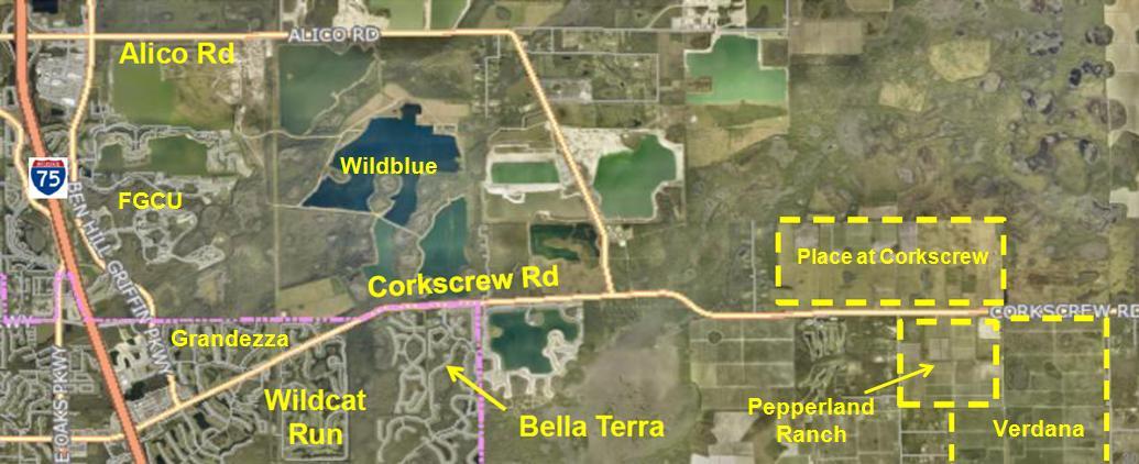 Commissioner Kiker speaks to Corkscrew Shores residents